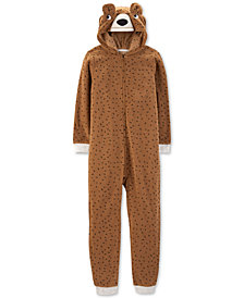 Carter's Little & Big Boys Hooded Bear Pajamas