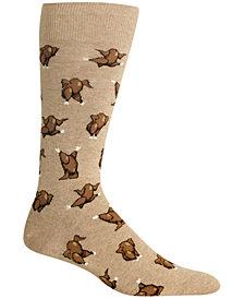 hot sox mens turkey fair isle socks - Christmas Socks For Men