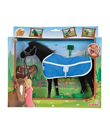 Simba Toys - Champion Black Beauty Horse With Accessories
