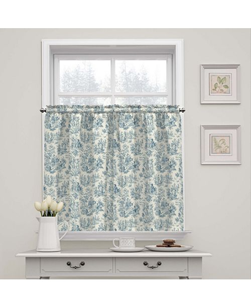 Waverly Charmed Life Window Tier Pair