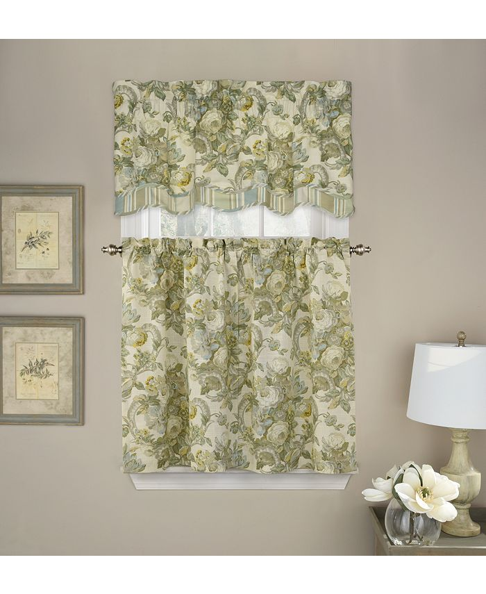 Waverly - Spring Bling Window Curtain Tier Pair