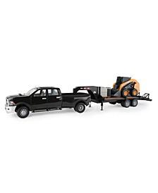 - Big Farm SV280 Skid Steer with Ram 3500 Truck & Trailer