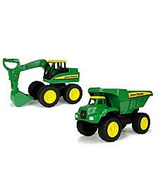 John Deere - Big Scoop Excavator And Dump Truck Construction Set