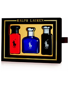 Ralph Lauren Men's 3-Pc. World Of Polo Gift Set
