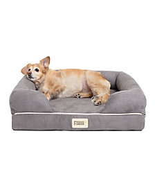 Friends Forever Chester Pet Couch with Solid Memory Foam, Small