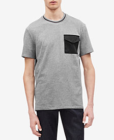 Calvin Klein Men's Contrast Pocket T-Shirt