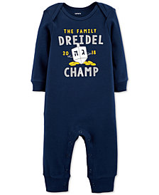 Carter's Baby Boys & Girls Driedel Champ Cotton Coverall