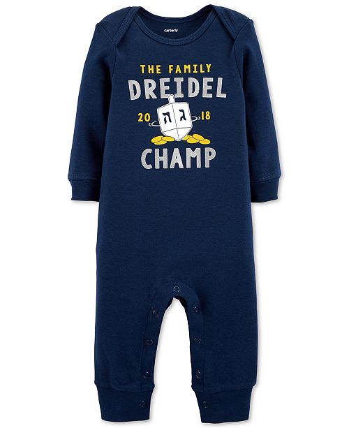 1e170bd4e Carter s Baby Boys   Girls Driedel Champ Cotton Coverall - All Baby ...