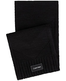 Calvin Klein Men's Chevron Scarf