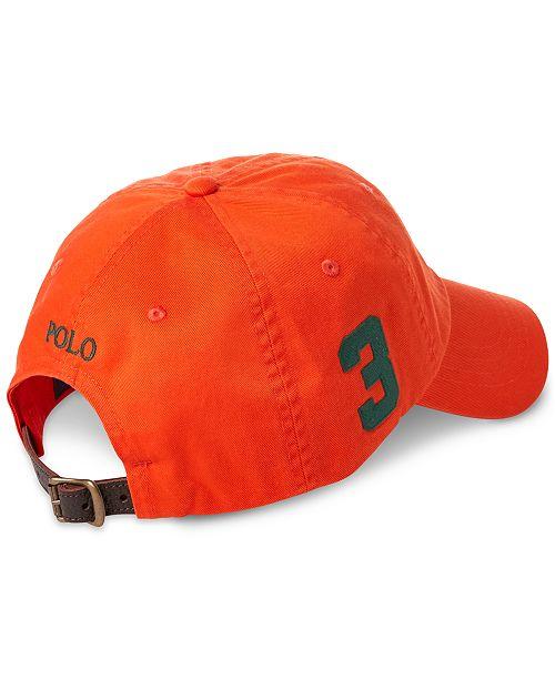 Polo Ralph Lauren Men s Big Pony Cap - Hats 4eee589bdae5