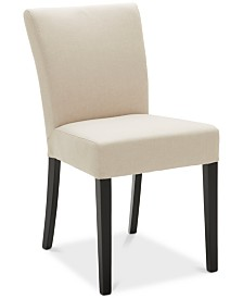 Closeout! Tate Fabric Parsons Dining Chair