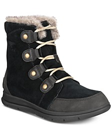 Women's Explorer Joan Lug Sole Waterproof Booties