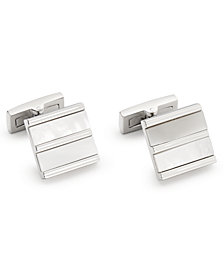 Ryan Seacrest Distinction™ Men's Mother-Of-Pearl Cuff Links, Created for Macy's