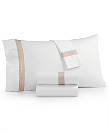 Sleep Luxe 800 Thread Count, Fashion Hem 4-PC Queen Sheet Set, 100% Cotton Sateen, Created for Macy's