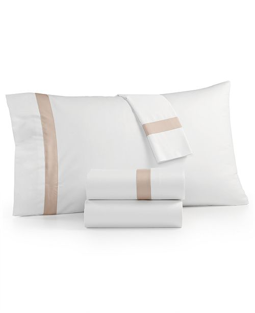 Charter Club Sleep Luxe 800 Thread Count, Fashion Hem Pillowcase Pair, 100% Cotton Sateen, Created for Macy's