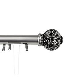 "Lacey Decorative Traverse Rod w/ Sliders 66""- 120"""