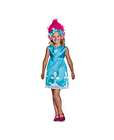 Trolls Poppy Classic With Headband Big Girls Costume