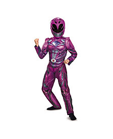 Power Rangers Pink Ranger Deluxe Big Girls Costume
