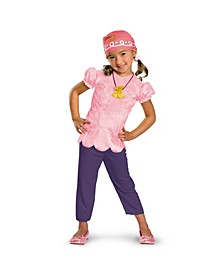 Little Girls Disney Jake and The Never Land Pirates Izzy Classic Costume