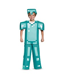Minecraft Armor Prestige Little and Big Boys Costume