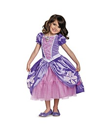 Sofia The First Sofia The Next Chapter Deluxe Little and Big Girls Costume