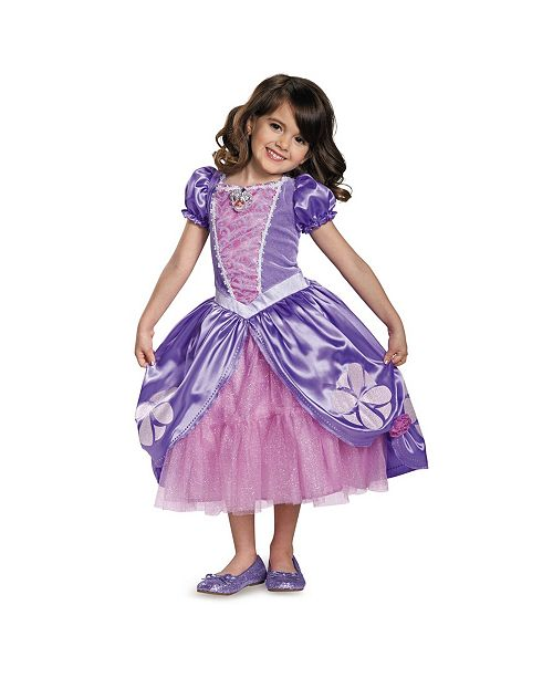 BuySeasons Sofia The First Sofia The Next Chapter Deluxe Little and Big Girls Costume