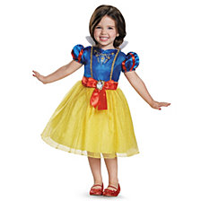 Disney Princess Snow White Classic Little Girls Costume