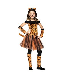Tigress Big Girls Costume