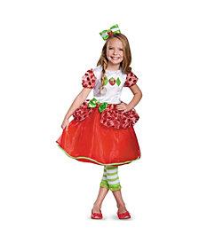 Strawberry Shortcake Deluxe Big Girls Costume
