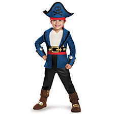 Captain Jake and The Neverland Pirates Captain Jake Deluxe Toddler Boys Costume