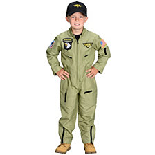 Jr. Armed Forces Pilot Big Boys Costume