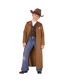 Old West Sheriff Little and Big Boys Costume