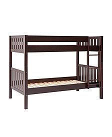 Solid Wood Cottage Slat Bunk Bed