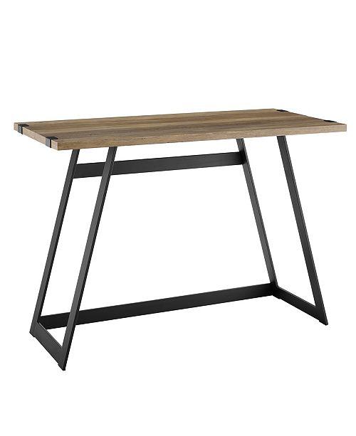 Walker Edison 42 inch Metal Wrap Writing Desk