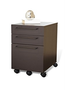 Hanie 3 Drawer File Cabinet, Quick Ship