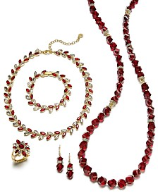 Anne Klein Two-Tone Crystal Jewelry Separates