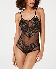 Calvin Klein Women's Siren Lace Bodysuit QF4934