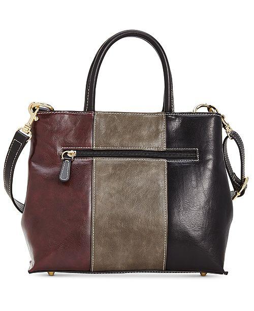 ... Giani Bernini Tricolor Glazed Bucket Bag