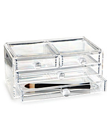 Tri-Coastal Design 4-Drawer Acrylic Storage Box