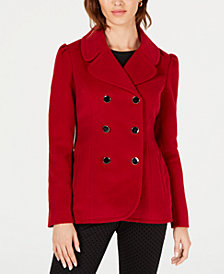 Maison Jules Double-Breasted Peacoat, Created for Macy's