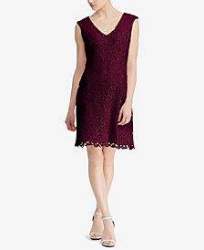 Lauren Ralph Lauren Scalloped-Lace Dress