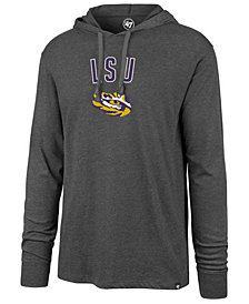 '47 Brand Men's LSU Tigers Long Sleeve Focus Hooded T-Shirt