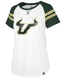 '47 Brand Women's South Florida Bulls Fly Out Raglan T-Shirt