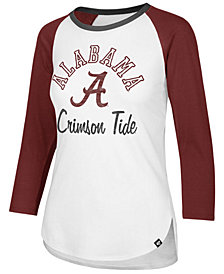 '47 Brand Women's Alabama Crimson Tide Script Splitter Raglan T-Shirt