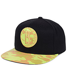 Mitchell & Ness Brooklyn Nets Natural Camo Snapback Cap