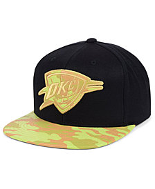 Mitchell & Ness Oklahoma City Thunder Natural Camo Snapback Cap