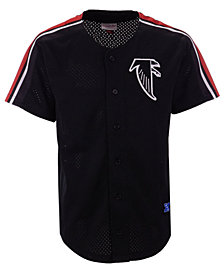 Mitchell & Ness Men's Atlanta Falcons Winning Team Mesh Button Front Jersey