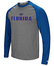 Colosseum Men's Florida Gators Social Skills Long Sleeve Raglan Top