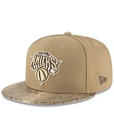 New York Knicks Snakeskin Sleek 59FIFTY FITTED Cap
