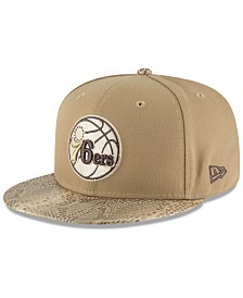 New Era Philadelphia 76ers Snakeskin Sleek 59FIFTY FITTED Cap